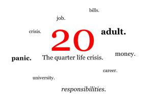 Quarter-life-crisis